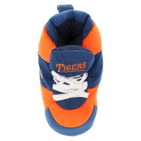 1a74443a92967 NCAA Auburn Tigers Adult Comfy Feet Sneaker Slippers - Blue Orange