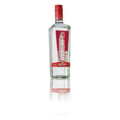 New Amsterdam Red Berry Flavored Vodka - 750ml Bottle