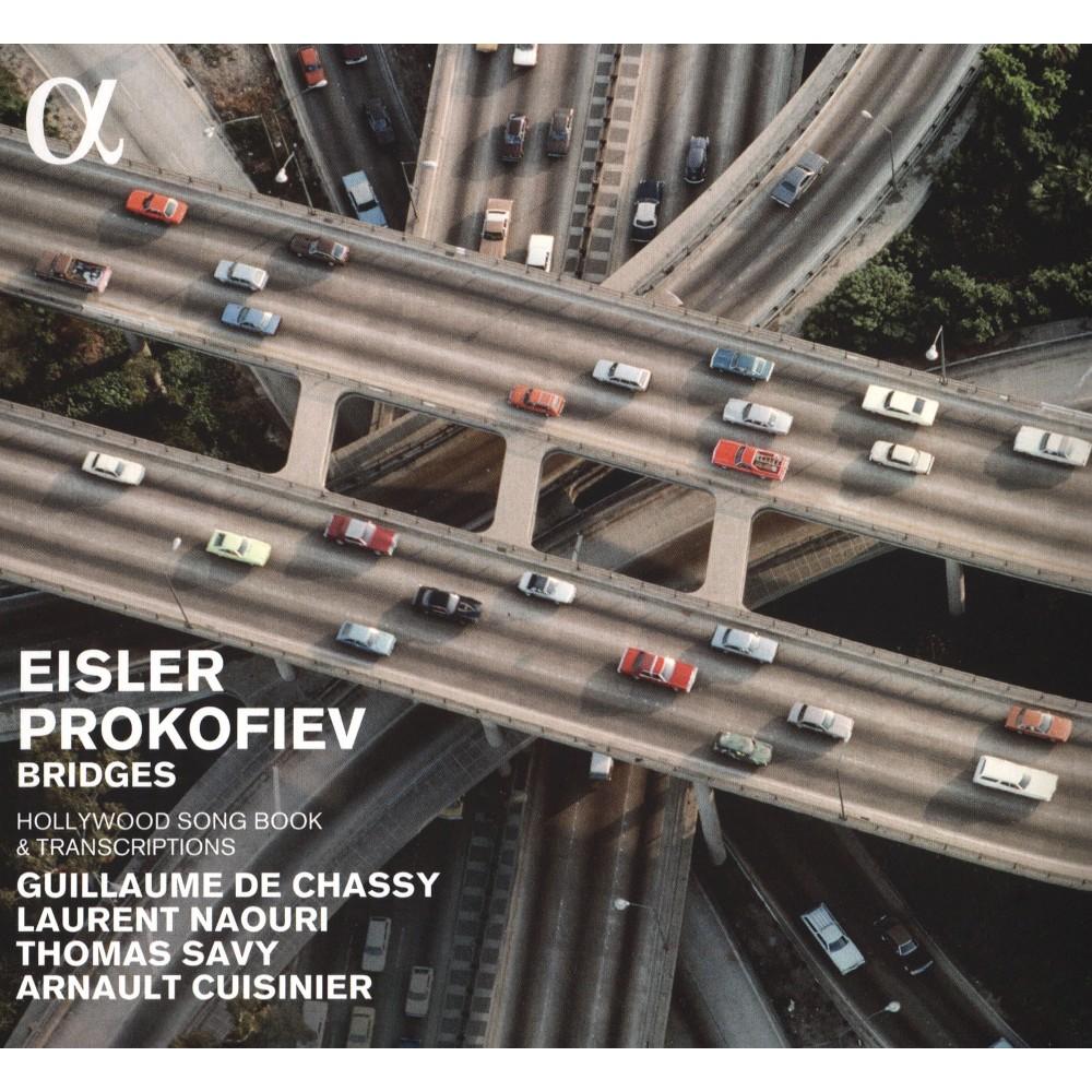 Arnault Cuisnier - Eisler/Prokofiev:Bridges Hollywood So (CD)