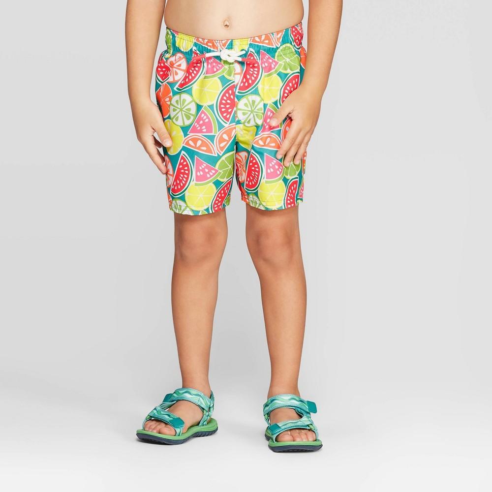 9c50feaf0b Toddler Boys Fruit Swim Trunks Yellow 6