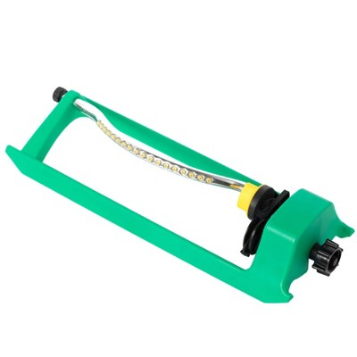 Gardenised Oscillating Water Sprinkler With 18 Nozzle Jets
