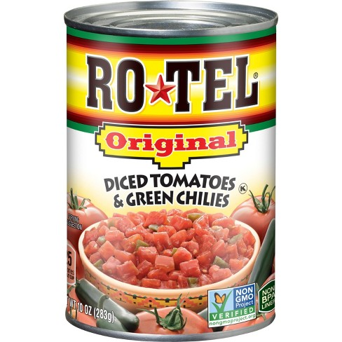 Rotel Original Diced Tomatoes & Green Chilies 10oz - image 1 of 3