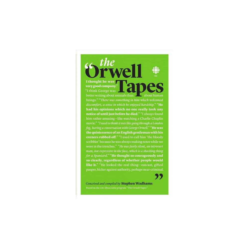Orwell Tapes (Paperback) (Stephen Wadhams)