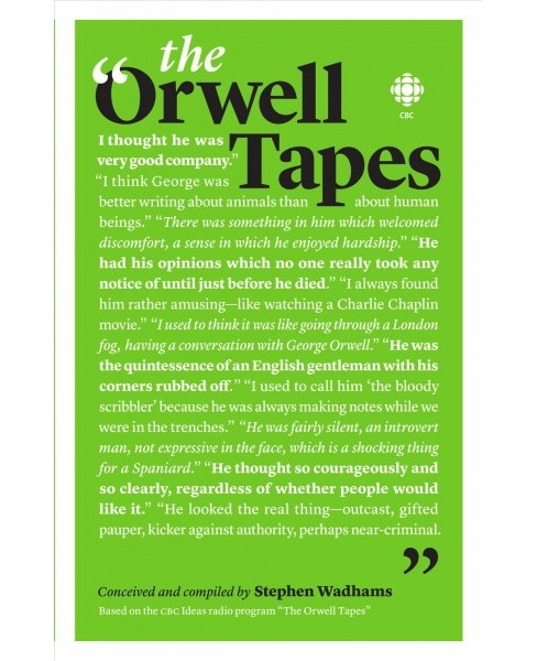 Orwell Tapes (Paperback) (Stephen Wadhams) - image 1 of 1