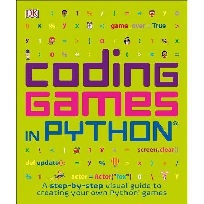 Coding Games in Python - (Computer Coding for Kids) (Paperback)