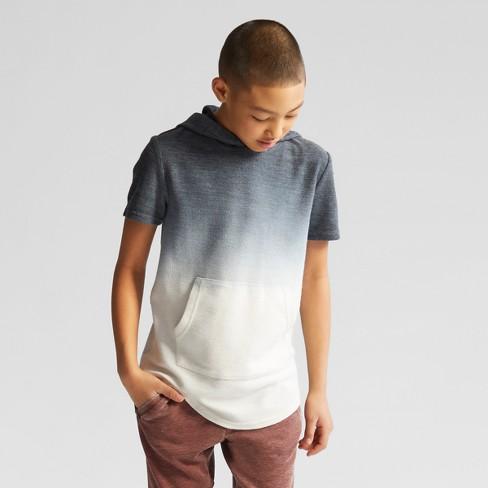 Boys' Short Sleeve Sweatshirt - art class™ Blue M - image 1 of 2