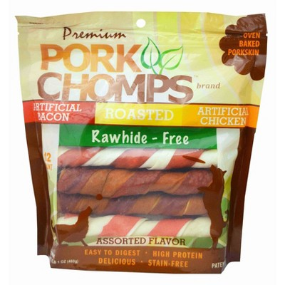 Nutri Chomps Pork Chomps Assorted Flavors Twist