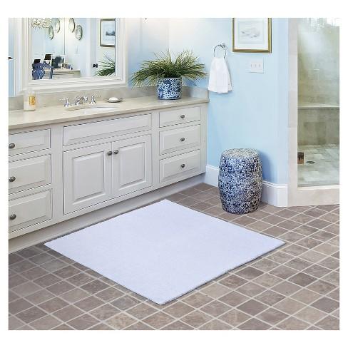 Queen Cotton Oversized Bath Rug White 36 X36 Garland Target