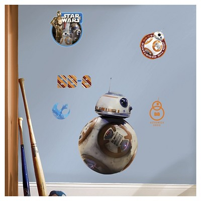 Star Wars 7 The Force Awakens BB-8 Wall Decal