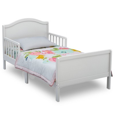 Delta Children Bennett Toddler Bed - Bianca White