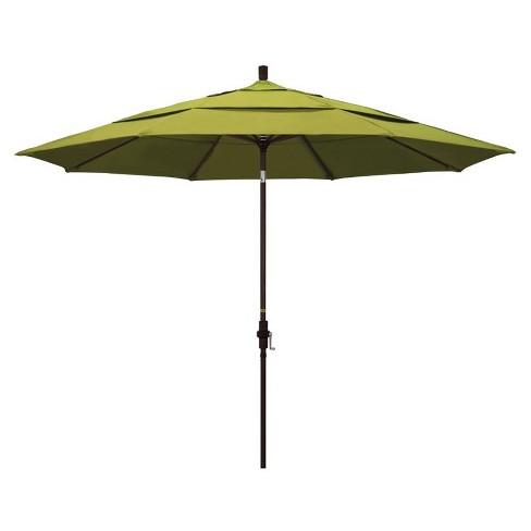 11' Patio Umbrella in Kiwi - California Umbrella - image 1 of 2