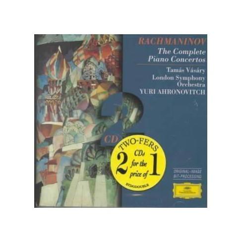 Rachmaninov - Rachmaninov:Complete Pianos Concertos (CD) - image 1 of 1