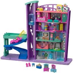 Polly Pocket Pollyville Mega Mall Playset