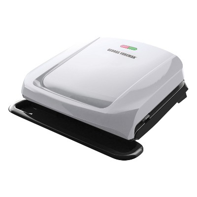 4-Serving Removable Plate Electric Indoor Grill and Panini Press