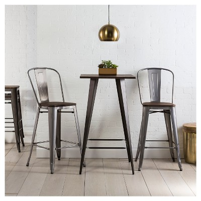 Awe Inspiring Brown Bar Stools Counter Stools Target Onthecornerstone Fun Painted Chair Ideas Images Onthecornerstoneorg