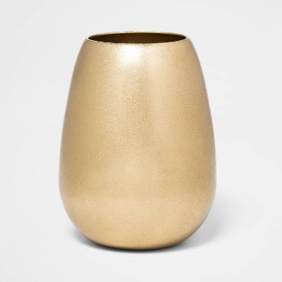 6.1  x 4.1  Brass Hurricane Vase Gold - Threshold™
