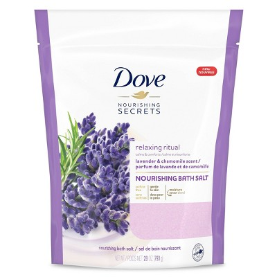 Dove Beauty Bath Salt Lavender - 28oz