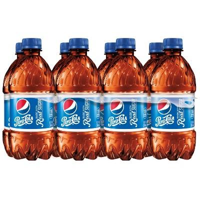 Pepsi Real Sugar Cola - 8pk/12 fl oz Bottles