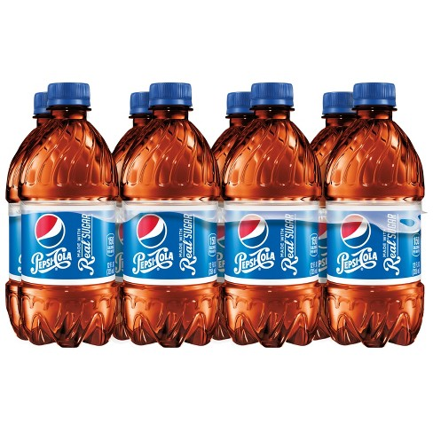 Pepsi Real Sugar Cola - 8pk/12 fl oz Bottles - image 1 of 3
