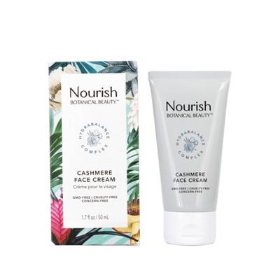 Nourish Organic Botanical Beauty Cashmere Face Cream - 1.7 fl oz