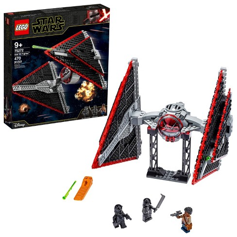 LEGO Star Wars Sith TIE Fighter Collectible Building Kit 75272 - image 1 of 4