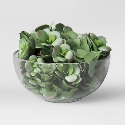 """1.5"""" x 3.5"""" Set of 10 Artificial Succulent Fillers - Threshold™"""