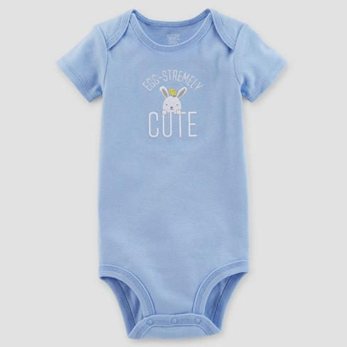 Baby Boys' Egg-stremely Cute Bodysuit - Just One You™ Made by Carter's®  Blue - image 1 of 1