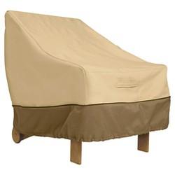 Veranda Patio Lounge Chair Cover Medium - Light Pebble - Classic Accessories