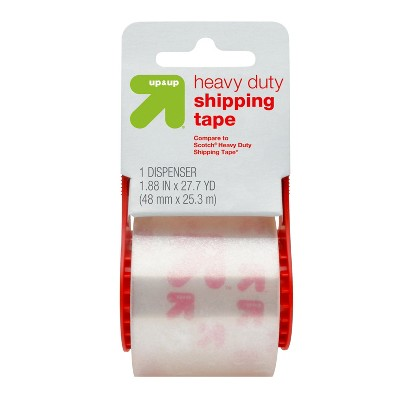 Heavy Duty Shipping Tape with Dispenser (Compare to Scotch® Heavy Duty Shipping Tape)- Up&Up™