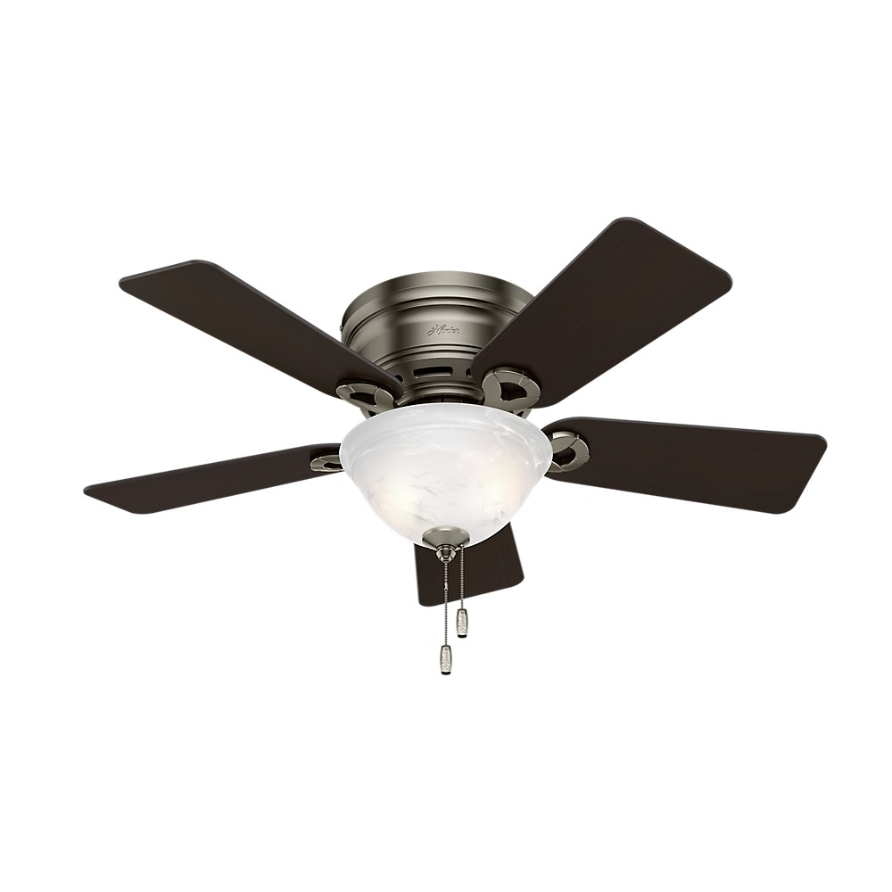 """Image of """"42"""""""" Conroy Ceiling Fan with Light Antique Pewter - Hunter Fan"""""""