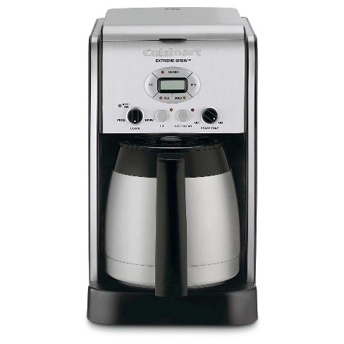 Cuisinart Extreme Brew 10 Cup Programmable Coffee Maker Stainless Steel Dcc 2750 Target