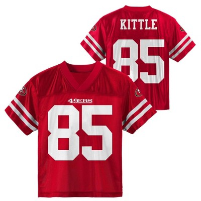 reputable site a78ba 76641 NFL San Francisco 49ers Toddler Boys' Kittle George Jersey