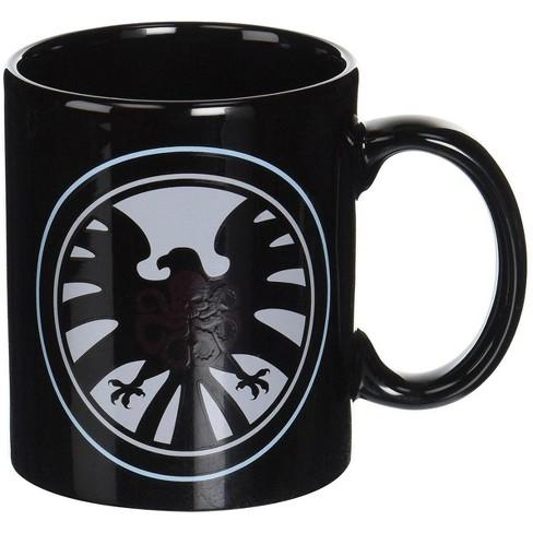 Surreal Entertainment Marvel Shield/ Hydra Heat Change Mug - image 1 of 1