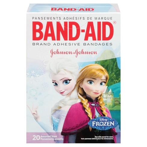 Band Aid Disney Frozen Adhesive Bandages Target