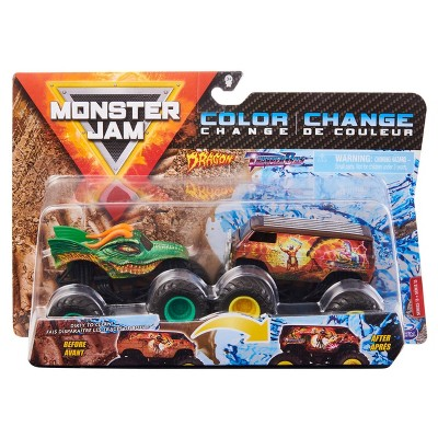 Monster Jam - 2 Pack 1:64 Scale - Dragonvthunderbus