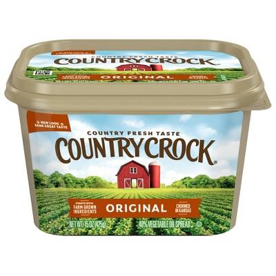 Country Crock Original Vegetable Oil Spread Tub - 15oz