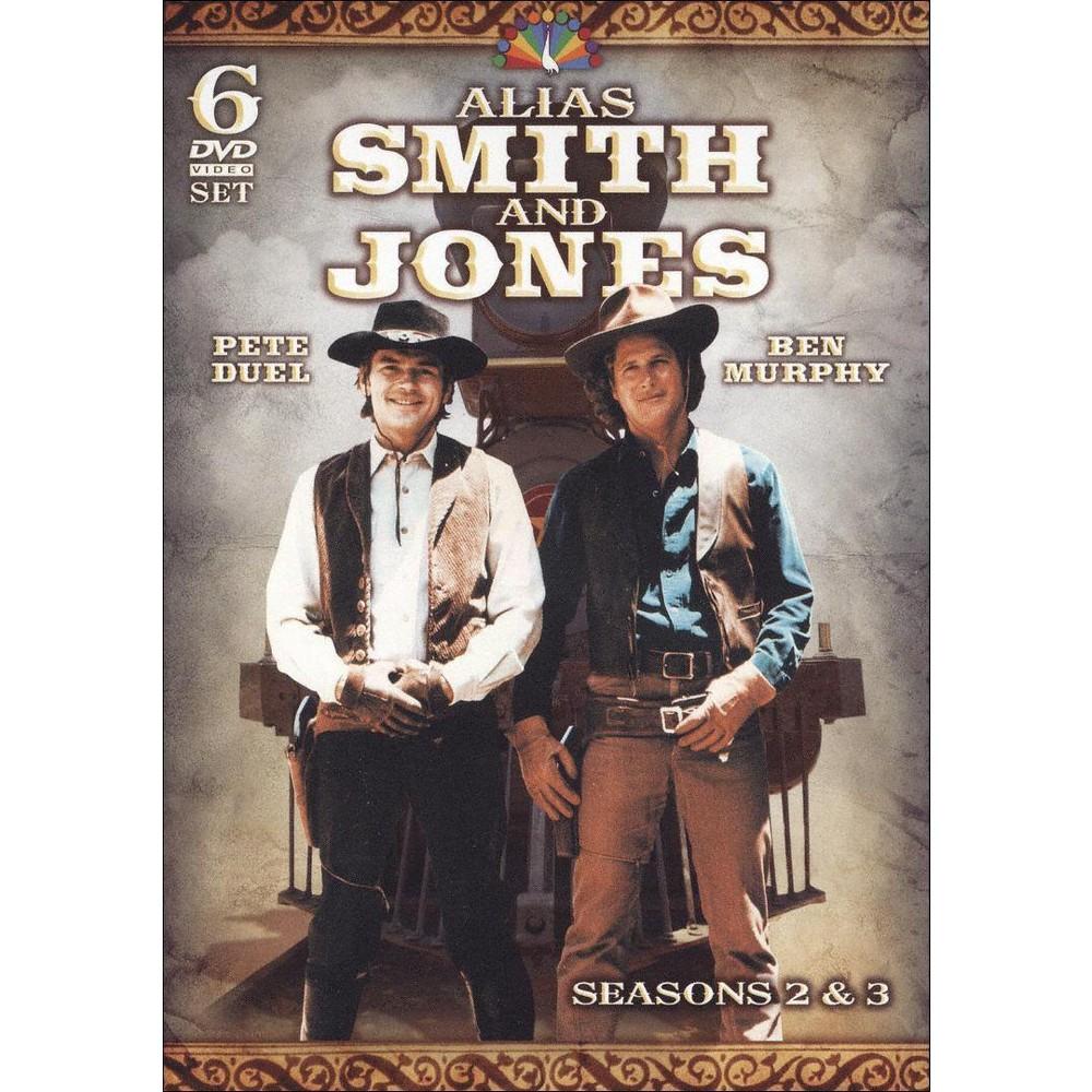 Alias Smith Jones Season 2 3 Dvd 2010