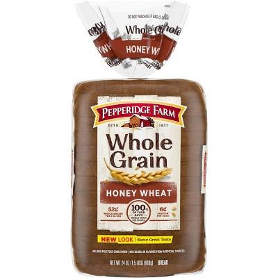 Pepperidge Farm Whole Grain Honey Wheat Bread - 24oz