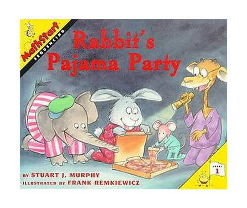 Rabbit's Pajama Party (Paperback) (Stuart J. Murphy) - image 1 of 1