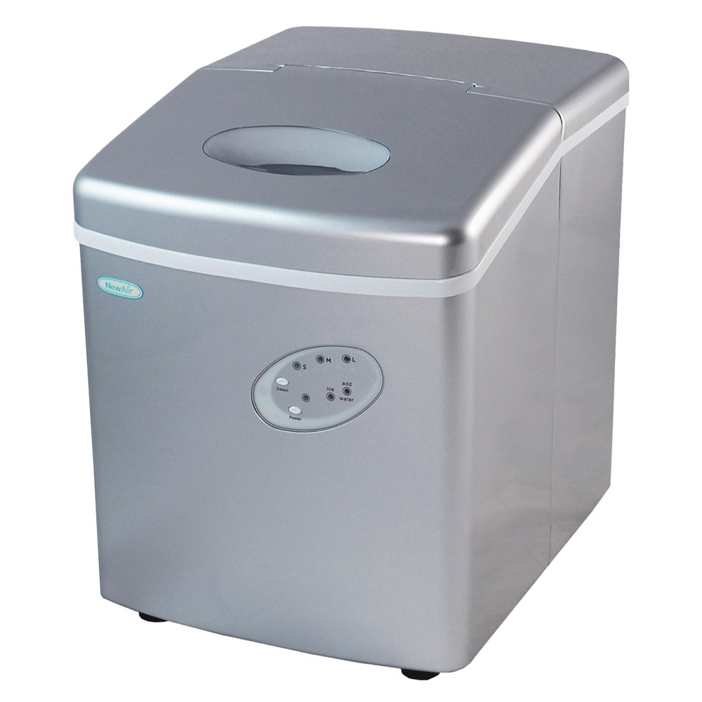 NewAir 28lb Portable Ice Maker – Silver AI-100 50145731