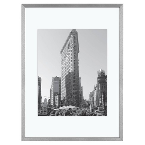 """11"""" x 15"""" Float Thin Gallery Frame Silver - Project 62™ - image 1 of 4"""