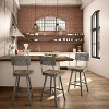 Amisco Jameson Counter Stool with Wood Seat - image 2 of 2