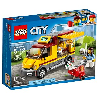 LEGO® City Great Vehicles Pizza Van 60150