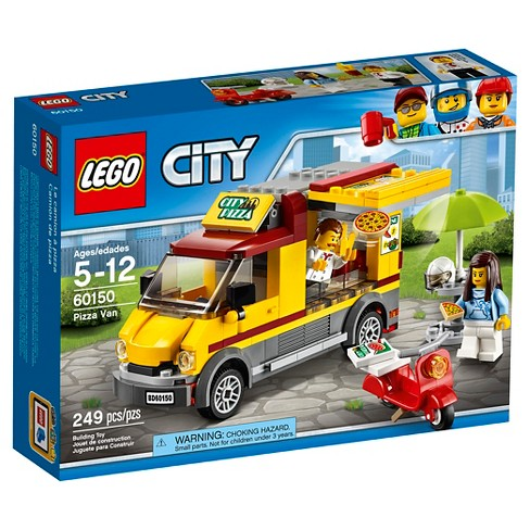Lego City Great Vehicles Pizza Van 60150 Target