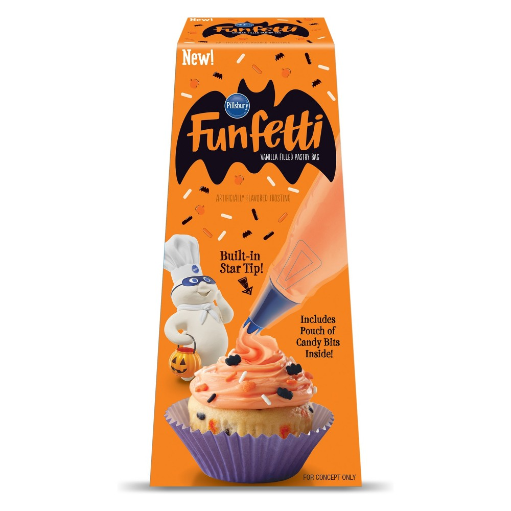 Pillsbury Halloween Pastry Bag - 16oz, Orange Dream