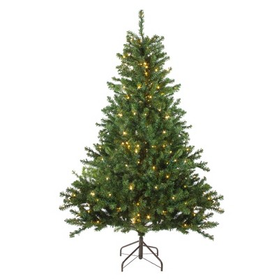 Northlight 5' Prelit Artificial Christmas Tree Canadian Pine - Candlelight LED Lights