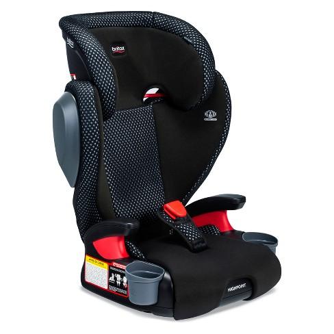 Britax Highpoint Cool Flow Booster Car Seat Gray