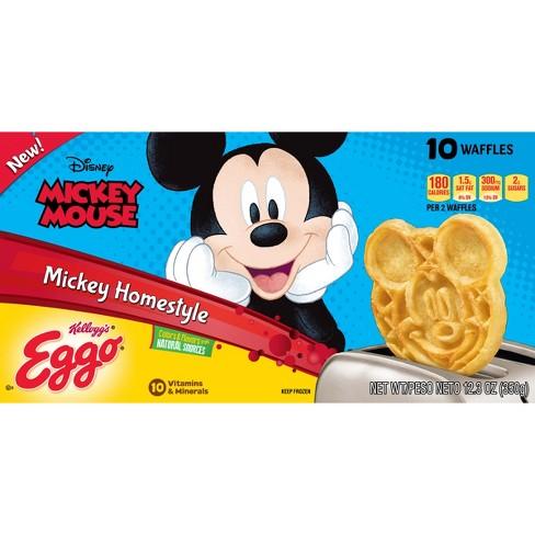 Kellogg's Eggo Mickey Mouse Frozen Homestyle Waffles - 10ct - image 1 of 7