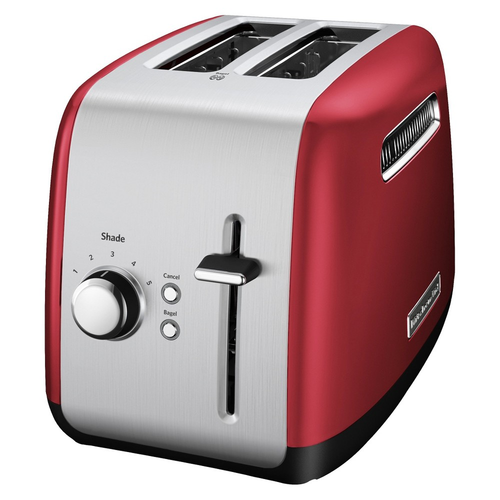 KitchenAid 2-Slice Toaster with Manual Lift Lever – KMT2115, Red Metal 13898478