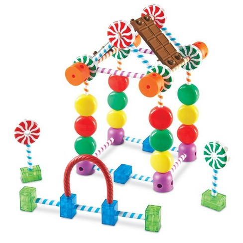 Learning Resources Candy Construction Set, 92 Pieces - image 1 of 4
